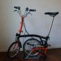 mon nouveau brompton 2013 orange & noir H6RN Brompt19