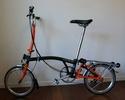 mon nouveau brompton 2013 orange & noir H6RN Brompt21