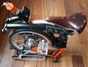 mon nouveau brompton 2013 orange & noir H6RN Brooks10