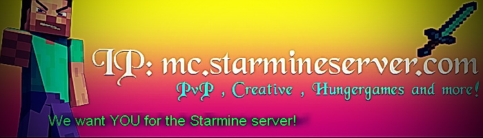 Starmine Minecraft Server - Survival 46.105.108.19:25594