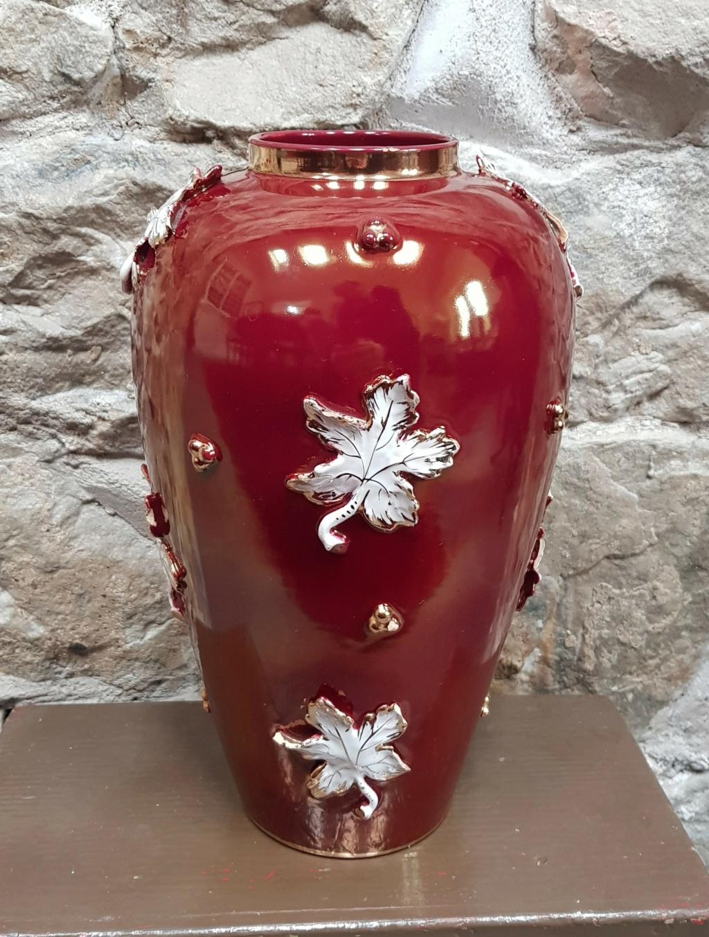 Italian flambe vase - Cantagalli? 2020-114