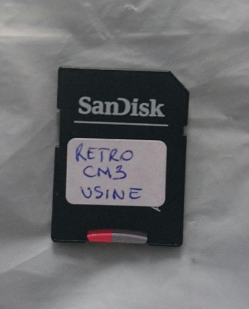 [VENDUE] Retro-CM3. _2020023
