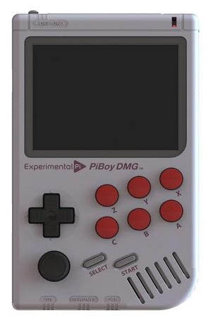 PiBoy DMG. Drtyu10