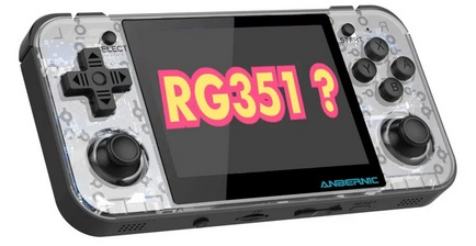 RG351, un autre clone de l'OGA. Oiuyt10