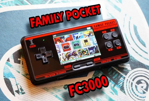 The Family Pocket FC3000. Oiuytr10