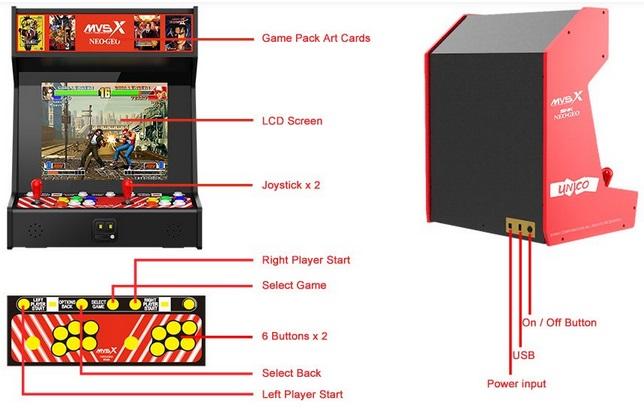 SNK MVSX Home Arcade. Sans_t69