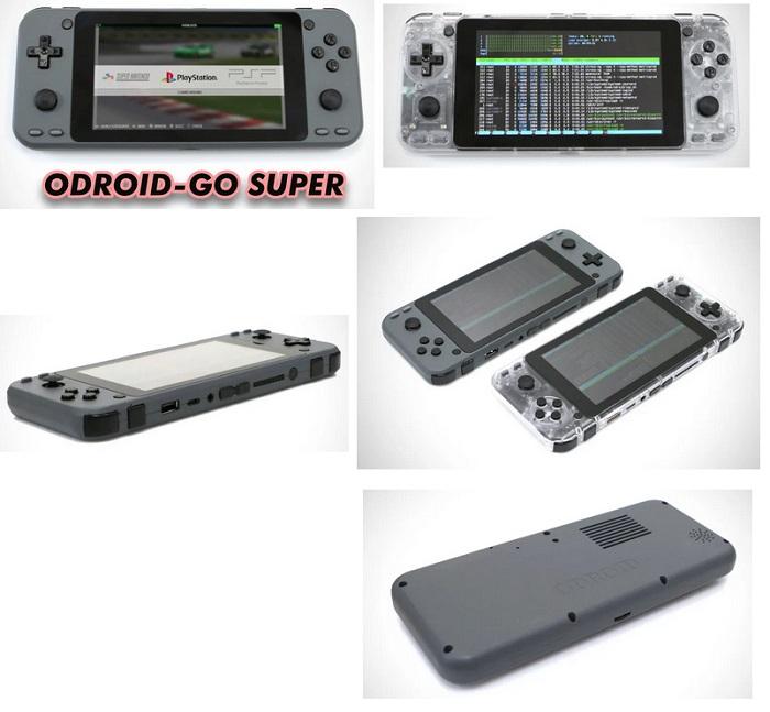 La ODROID Go Super Tyui12