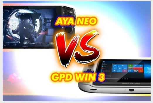 GPD Win 3 VS Aya Neo. Uio11