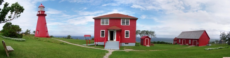 [Canada] - Phare La Martre sur la route des phares en Haute-Gaspésie  12698810