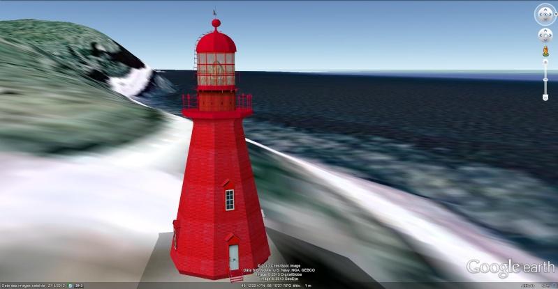 [Canada] - Phare La Martre sur la route des phares en Haute-Gaspésie  La_mar11