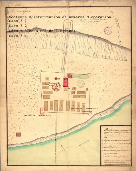 [Canada] - Le musée des Abénakis et le projet du fort à Odanak au Québec Planbl10