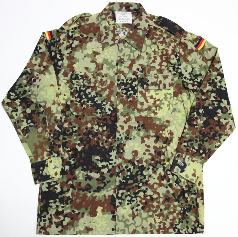 Early Flecktarn Camo  German11