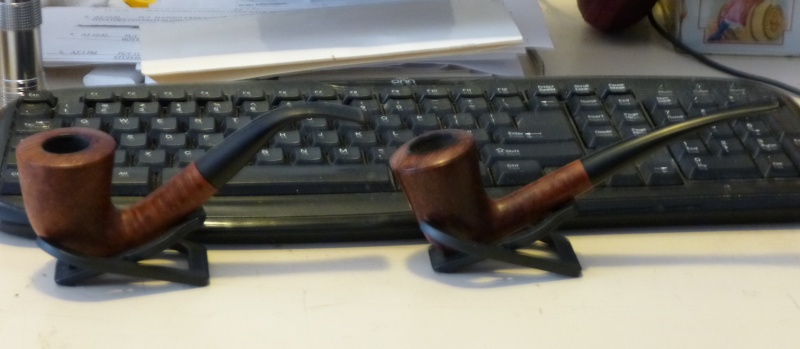 My Ed Burak Pipes, Connoisseur Pipe Shop, NYC.  Add Yours!!! P1000012