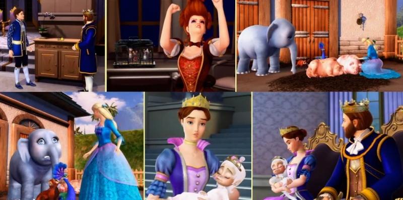 Barbie Princesse de l'île Merveilleuse [2007] [F.Anim] Deco_512