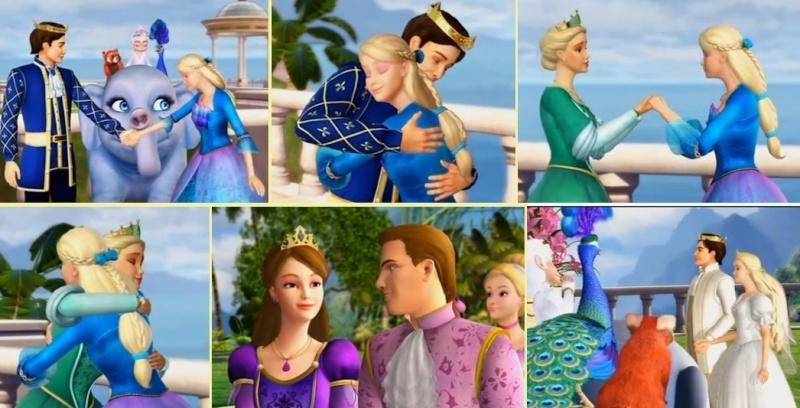Barbie Princesse de l'île Merveilleuse [2007] [F.Anim] Deco_810