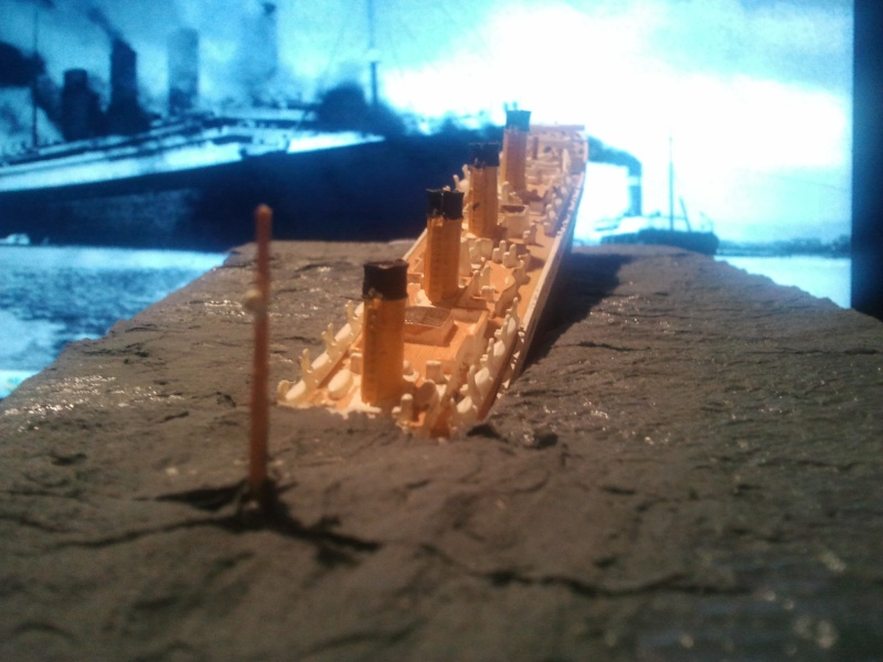 RMS Titanic revell 1/1200  Photo016