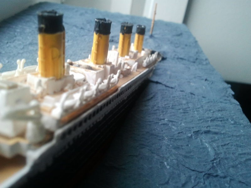 RMS Titanic revell 1/1200  Photo022