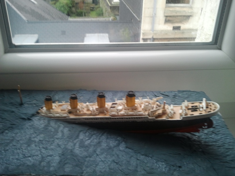 RMS Titanic revell 1/1200  Photo024