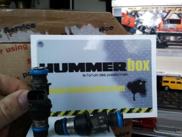 Injecteur essence Hummer H2 2003-2007 2013-012