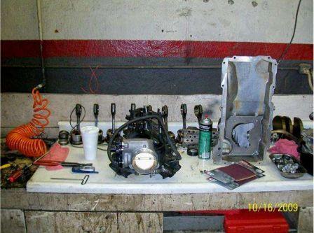 Un 408 cubes dans un Hummer H2 2003 !!! Engine10