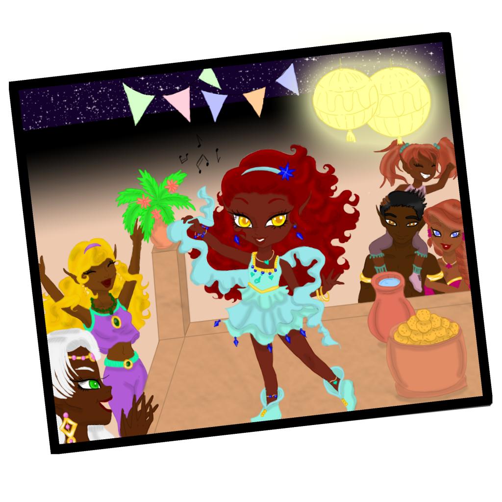 Vaeri's Colorings and Art Dancin10