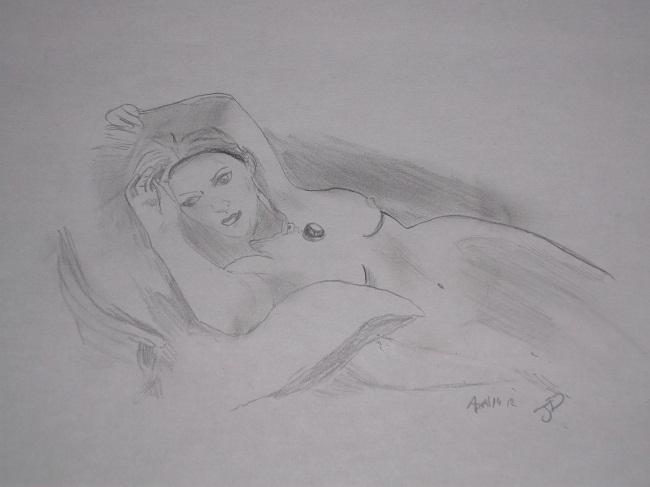 Mes dessins en rapport avec le Titanic. Dscf1411