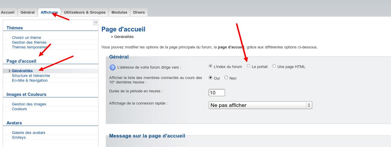 Comment faire pour choisir la page à afficher une fois connecté ? Captur38