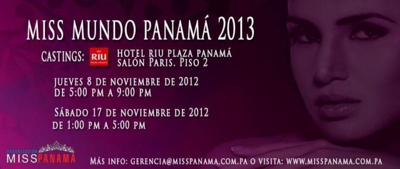 Miss Mundo Panamá  2013 (Results) 121