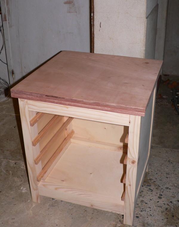meuble support pour perceuse d'atelier - Page 4 7_bati10