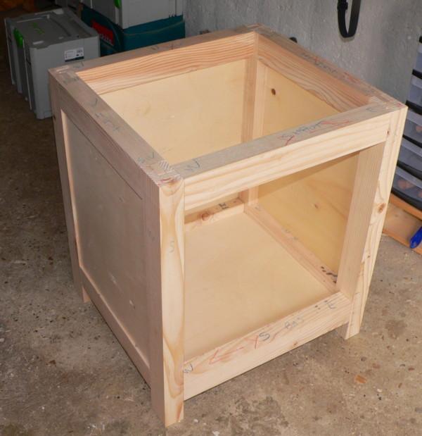 meuble support pour perceuse d'atelier - Page 3 Montag10