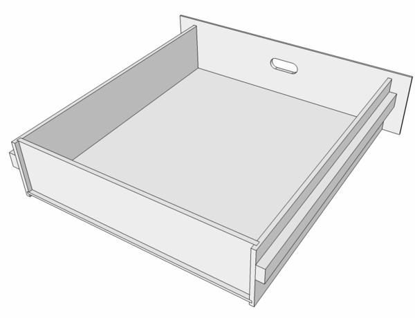 meuble support pour perceuse d'atelier Tiroir13