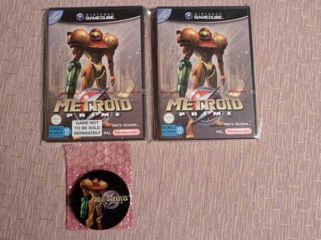 "Collection de NESmania²  "" Gamecube sous blister ""  P1010917"