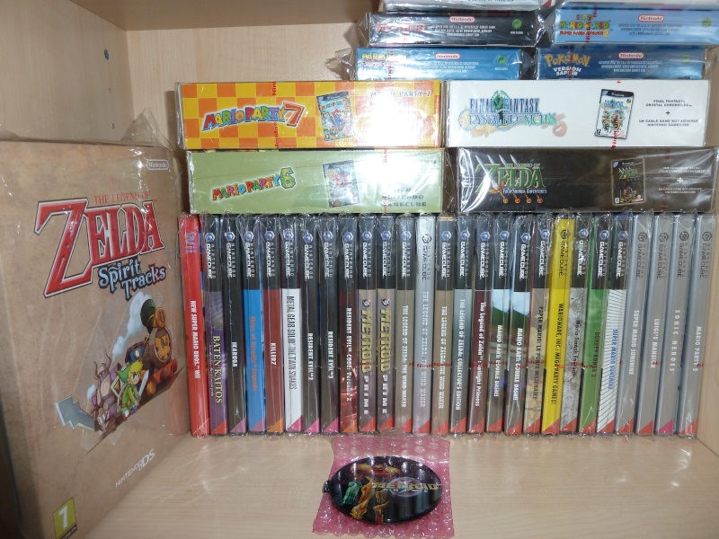 "Collection de NESmania²  "" Gamecube sous blister ""  P1010918"