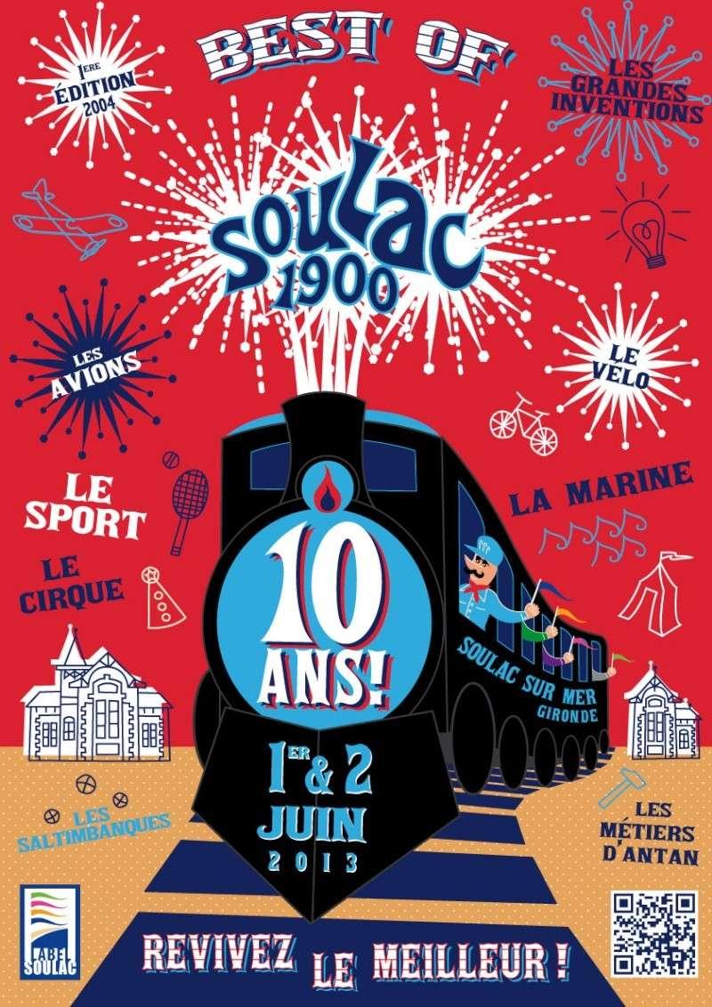 Les 10 ans de Soulac 1900 le 1er et 2 Juin 2013 a Soulac sur Mer Visuel10