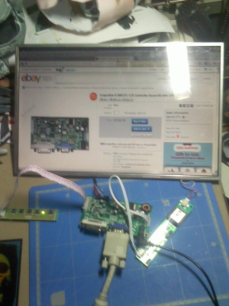 Récupérer et réutiliser l'écran d'un ordinateur portable 03121213