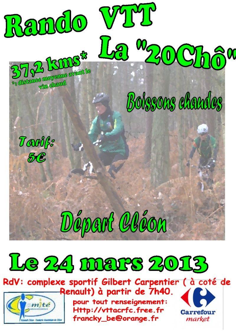 [24 Mars 2013] 3 ème 20Chô à CLEON (76) Affich10