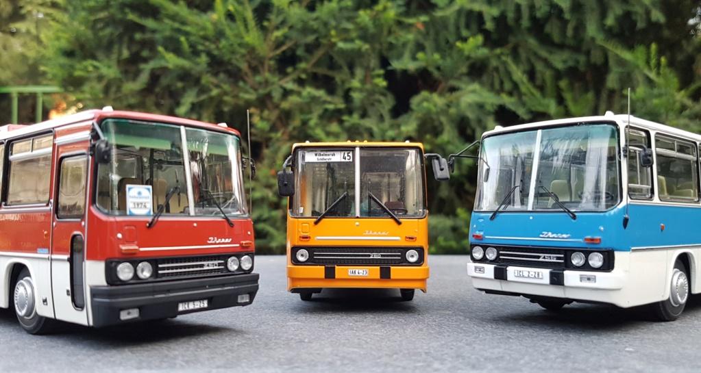 Ikarus 256.51 und 250.59 von Classic Bus 20190726