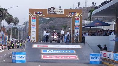 Se inició la edición 34 del Rally Dakar-2013 desde Lima Costav13