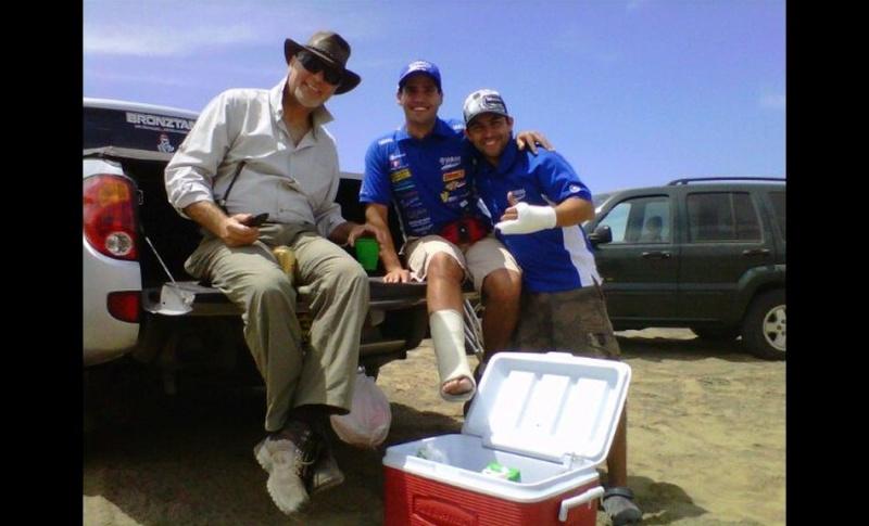 FOTOS: Ignacio Flores, el peruano que entró a la historia del Dakar Iflore12