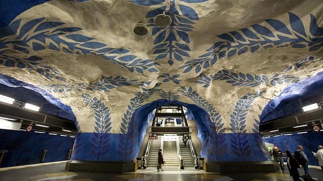 Las diez estaciones de metro más espectaculares del mundo Metro-10