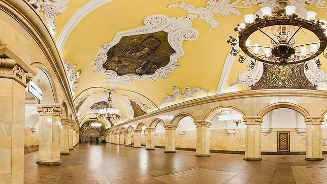 Las diez estaciones de metro más espectaculares del mundo Metro-11