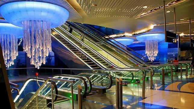 Las diez estaciones de metro más espectaculares del mundo Metro-12