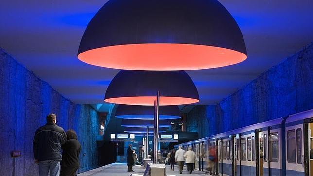 Las diez estaciones de metro más espectaculares del mundo Metro-14