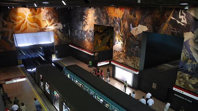 Las diez estaciones de metro más espectaculares del mundo Metro-15