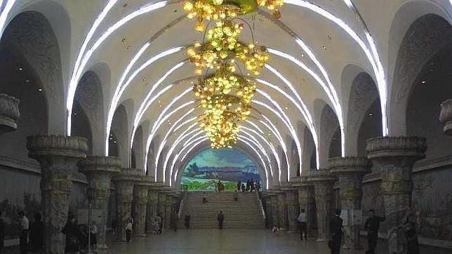 Las diez estaciones de metro más espectaculares del mundo Metro_10