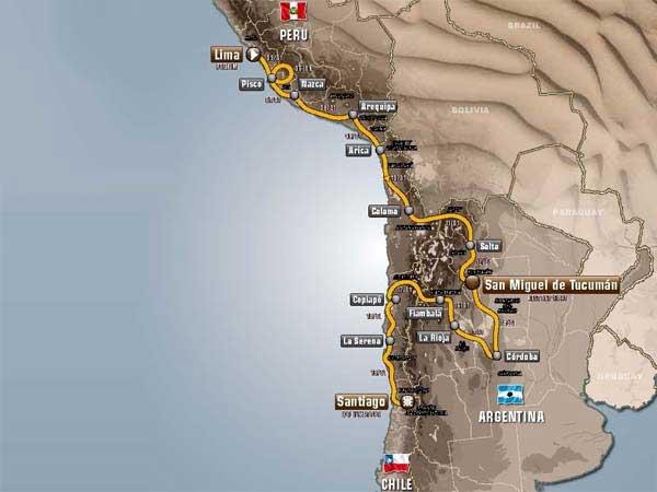 Se inició la edición 34 del Rally Dakar-2013 desde Lima Rally-10