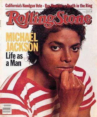 """Michael Jackson - en la """"Rolling Stone"""" Rollin10"""