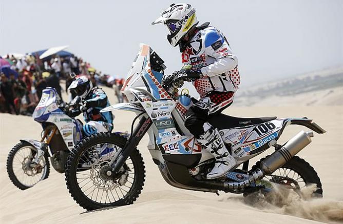 El Rally Dakar de luto Muere Thomas Bourgin piloto francés. Tbourg10