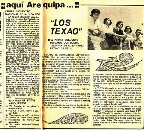 """Los Texao, el """"sonido niebla""""  Texao110"""
