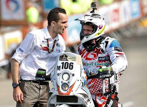 El Rally Dakar de luto Muere Thomas Bourgin piloto francés. Thomas10